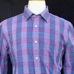 Charles Tyrwhitt Slim Fit Linen Blend L/S Shirt